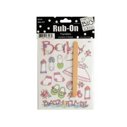Wholesale Family Sayings Rub-On Transfers